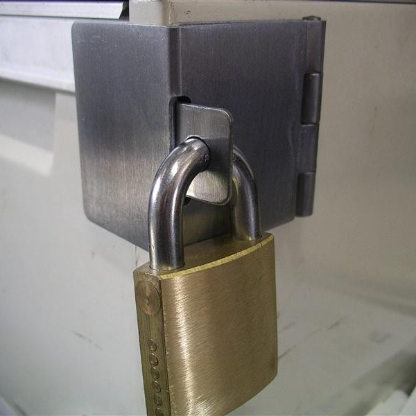 Meterbox/Cabinet Clasp padlock not included | CrocodileLock