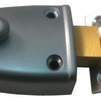 Square Bolt Rim Lock